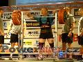 Jean-Luc Collart, BEL, dřep 350kg, muži M2 do 125kg