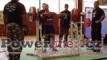Pavel Malina, dřep 157,5kg