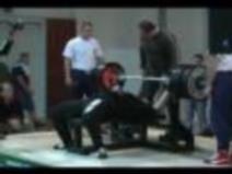 Jiří Havrda, 250kg, 1. pokus