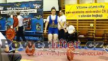 Iveta Jurčíková, 125kg, SK