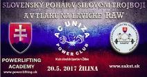 Slovenský pohár v klasickom (RAW) silovom trojboji a tlaku na lavičke