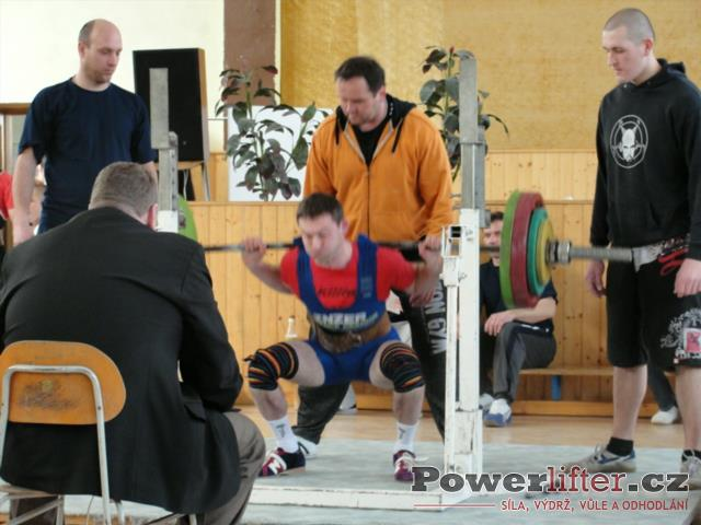 Štěpán Hoza, 205kg