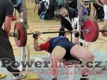 Tadeáš Kronovetr, benč 132,5kg