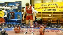 Ján Mikovič, 240kg, SK