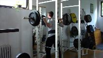 Dřepy 90kg - 11.série