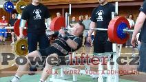 Jiří Kati, benč 252,5kg, český rekord M1 do 93kg