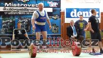 Bedřich Řechka, mrtvý tah 255kg, český rekord M3 nad 120kg