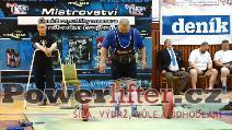 Jan Vítek, 185kg