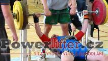 David Hora, benč 110kg