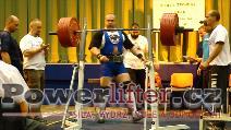 Pavel Demčák, dřep 330kg