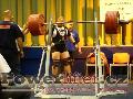 Milan Špingl, dřep 385kg