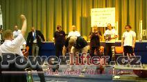 Milan Špingl, mrtvý tah 305kg