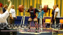 David Lupač, dřep 350kg