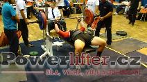 David Lupač, benč 170kg