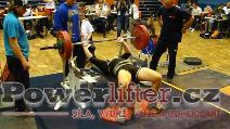 Kamil Večeřa, benč 195kg