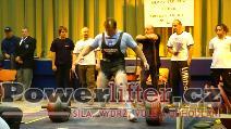 Miroslav Hejda, mrtvý tah 335kg
