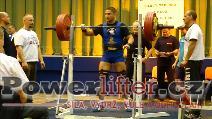 Petr Vlach, dřep 257,5kg