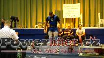 Petr Vlach, mrtvý tah 260kg