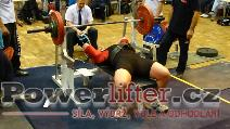 Petr Dospěl, benč 147,5kg