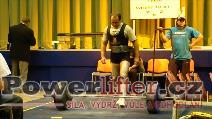Libor Novák, mrtvý tah 220kg