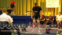 Petr Dospěl, mrtvý tah 217,5kg