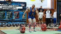 Pavol Demčák, mrtvý tah 300kg