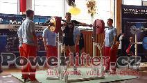 Ondřej Houžvička, dřep 255kg