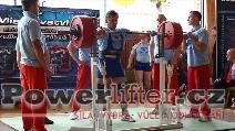 Zoltán Kanát, dřep 335kg