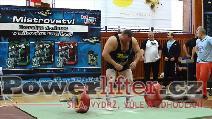 Jiří Gryga, mrtvý tah 310kg