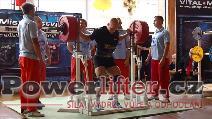 Stanislav Balvín, dřep 340kg