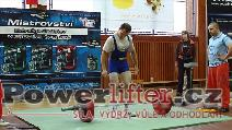 Dušan Švarcbach, mrtvý tah 250kg