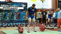 Petr Vlach, mrtvý tah 292,5kg