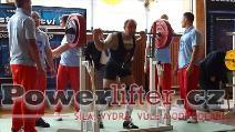 Libor Novák, dřep 195kg