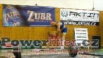 Roman Krejčík, 252,5kg, extra pokus