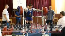 Ondřej Havránek, dřep 270kg