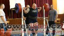 Marián Odlér, dřep 270kg