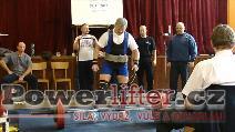 Václav Burda, mrtvý tah 195kg