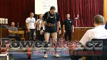 Josef Šindelář, mrtvý tah 190kg