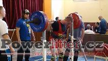 Tomáš Pavliš, dřep 220kg