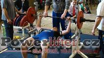 Patrik Krušina, benč 80kg