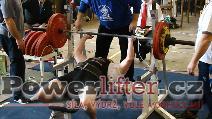 František Vincourek, benč 160kg