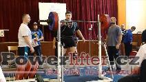 Pavel Žák, dřep 220kg