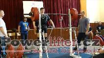Pavel Žák, dřep 232,5kg