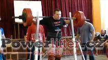 Václav Liška, dřep 250kg
