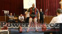Jiří Chvála, mrtvý tah 250kg