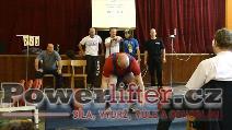 Marián Odler, mrtvý tah 270kg