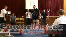 Václav Liška, mrtvý tah 285kg