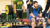 Milan Selinger, 255kg