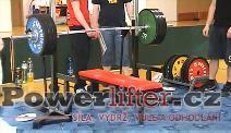 Miroslav Paukert, 217,5kg