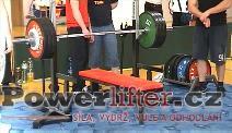 Miloš Hýbl, 237,5kg